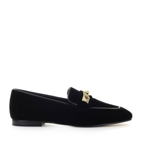 MOCASSINO GALLOWAY VELLUTO NERO MICHAEL KORS