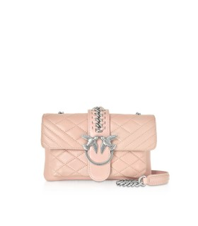 PINKO SOFT MIX LIGHT PINK MINI LOVE BAG