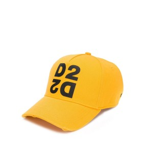 CAPPELLO DA BASEBALL D2 GIALLO DSQUARED2