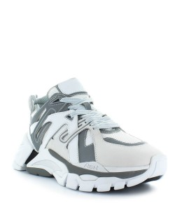 ASH WHITE AND GREY FLASH SNEAKER