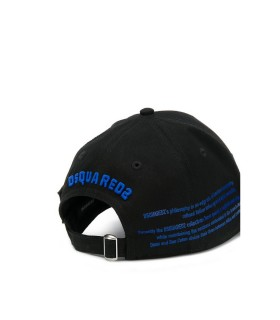 CAPPELLO BASEBALL ICON NERO BLUETTE DSQUARED2