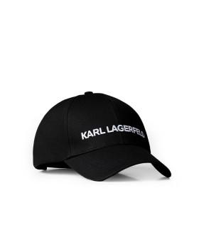 CAPPELLO DA BASEBALL NERO KARL LAGERFERLD