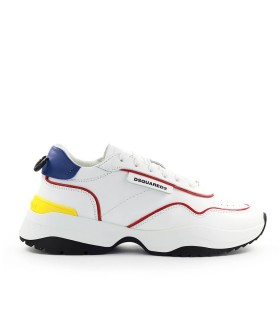 DSQUARED2 D24 WHITE RED SNEAKER
