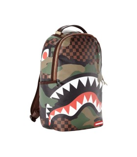 ZAINO CAMO SHARK IN PARIS SPRAYGROUND