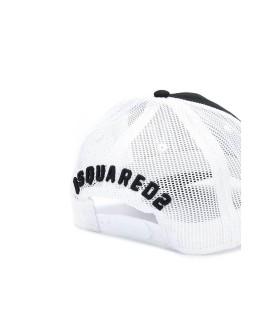 DSQUARED2 ICON BLACK MESH BASEBALL CAP