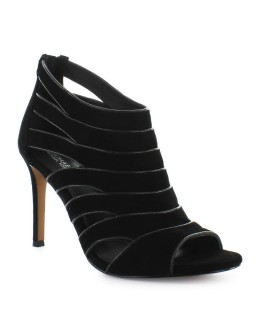 MICHAEL KORS HARPER BLACK OPEN TOE SANDAL