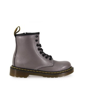 BOTA GRIS DELANEY LEAD KIDS DR. MARTENS