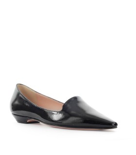 ROBERTO FESTA BLACK PATENT LEATHER LOTTIE BALLET FLAT