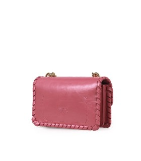 BORSA A TRACOLLA LOVE MINI TWIST CL MALVA PINKO