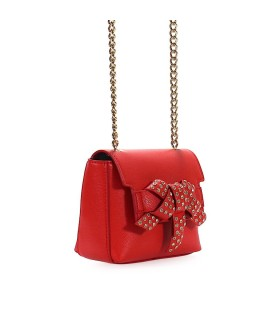 ERMANNO SCERVINO DESIREÉ RED SHOULDER BAG