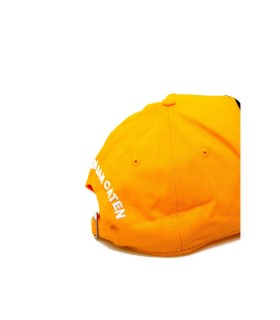 CAPPELLO BASEBALL PATCH GIALLO DSQUARED2