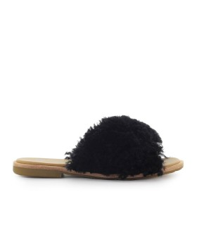 UGG JONI BLACK SLIDE