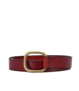 DSQUARED2 BORDEAUX LEATHER LADY BELT