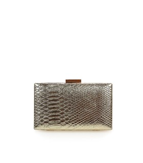 BOLSO CLUTCH CASIA ORO TWENTY FOURHAITCH