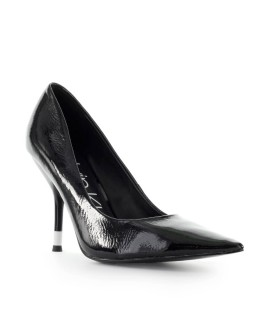 CALVIN KLEIN ALIYAH DÉCOLLETÉ BLACK PATENT LEATHER