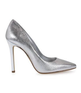 MARC ELLIS SILVER PUMPS