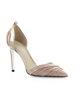 GREY MER BALI BEIGE PATENT LEATHER PUMP