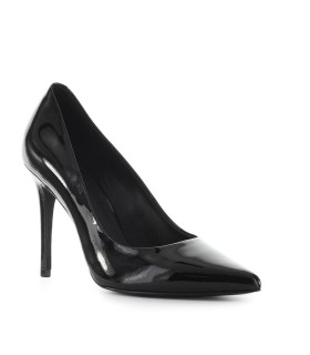 MICHAEL KORS BLACK PATENT LEATHER CLAIRE PUMP