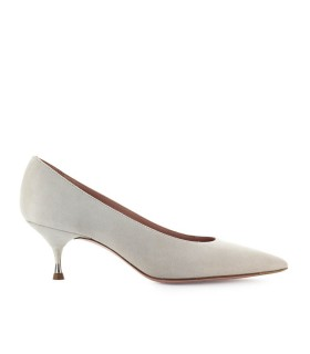 ROBERTO FESTA CLAUDE LIGHT GREY SUEDE PUMP