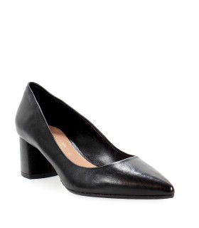 NICOLE BONNET BLACK NAPPA LEATHER PUMP