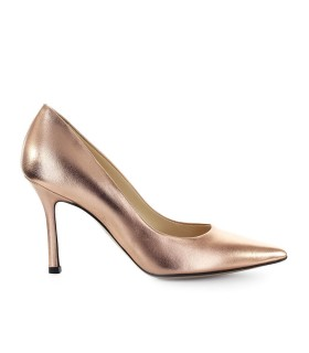MARC ELLIS COPPER LEER PUMP
