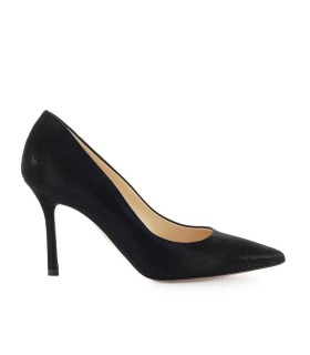 MARC ELLIS BLACK SUEDE PUMP