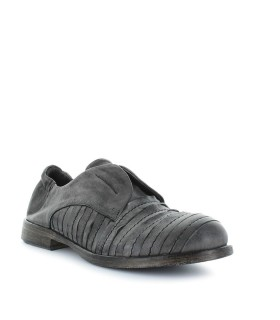 IXOS GREY SLIP ON DERBY