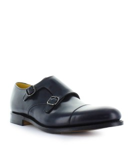 ZAPATO MONKSTRAP DETROIT POLISHBINDER AZUL CHURCH'S