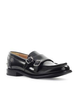 MOCASSINO BACKFORD 2W MONK STRAP POLISHED FUMÉ NERO CHURCH'S