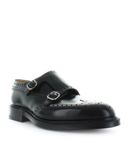 CHURCH'S MONKTON BLACK MONSTRAP