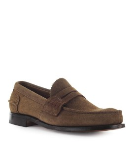 CHURCH'S PEMBREY SIGAR SUEDE MOCCASIN