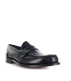 CHURCH'S TUNBRIDGE BOOKBINDER FUME DUNKELBLAU LOAFER