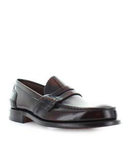 CHURCH'S TUNBRIDGE BOOKBINDER FUMÉ EBONY LOAFER