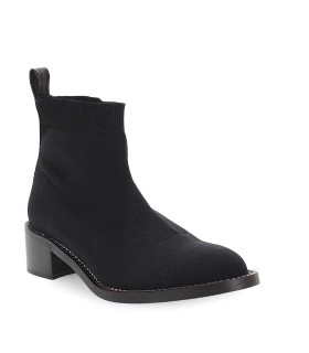 SCHWARZE STRETCH STIEFELETTEN MARC ELLIS
