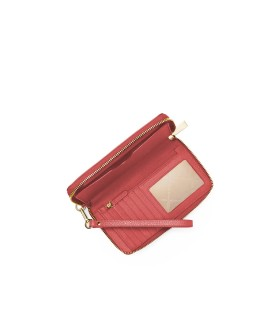MICHAEL KORS JET SET SALMON PINK WALLET