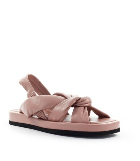 STRATEGIA BABE NUDE PINK NAPPA FLAT SANDAL