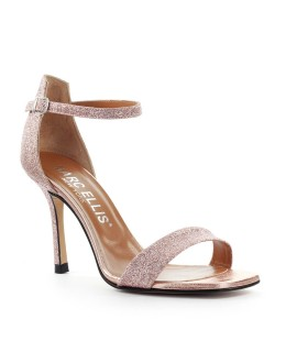 MARC ELLIS COPPER GLITTER SANDAL