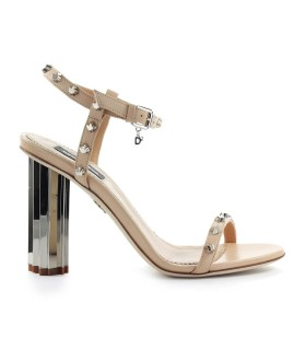 DSQUARED2 NUDE STUDS SANDAL