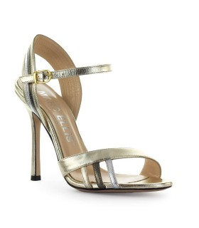 MARC ELLIS LAMINATED LEATHER SANDAL