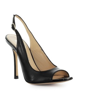 MARC ELLIS BLACK LEATHER SANDAL