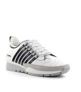 DSQUARED2 251 WHITE BLACK SNEAKER