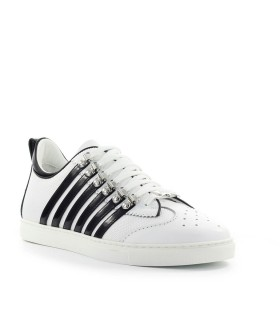 ZAPATILLA 251 LOW SOLE BLANCO NEGRO DSQUARED2