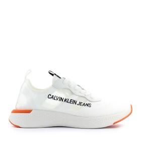 CALVIN KLEIN ALBAN WHITE SNEAKER
