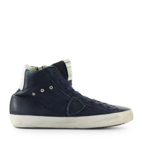 SNEAKER ALTA PARIS BLU PHILIPPE MODEL