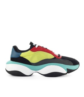 PUMA ALTERATION KURVE BLACK LIME SNEAKER