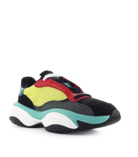 SNEAKER ALTERATION KURVE NERO LIME PUMA