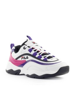 FILA CB LOW WMN WHITE PURPLE BLACK SNEAKER
