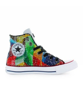 CONVERSE ALL STAR CHUCK TAYLOR SNEAKER MULTICOLOR SEQUINS LTD ED