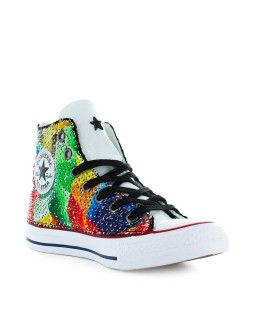 SNEAKER CHUCK TAYLOR CONVERSE ALL STAR MULTICOLOR SEQUINS LTD ED