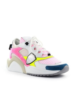 SNEAKER EZE FANCY GIALLO FUCSIA PHILIPPE MODEL